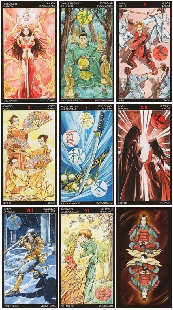 My Tarot Decks The Manga Tarot By Lo Scarabeo
